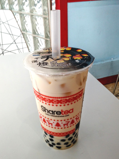 Sharetea, milk tea